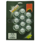 """048309 - Barjan 1-1/8"""" Hex Nut Cover With Flange - 10 Per Card"""