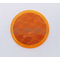 "049475ADOT - 3"" Round Amber Reflector Stick-On"