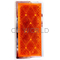 049484A - Sate-Lite Rectangular Stick On Amber Reflector