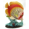 1255530-O/W - Resin Decorative Tropical Fish Statue  - Orange / White
