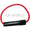 FH12X - Marmat 12 Gauge Bakelite Inline Fuse Holder (Bulk)