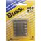 058BPAGC2JP - Blister Packed Agc-2 Amp Fuse, 5 Pack