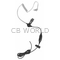 STARK1 - Klein Clear Acoustic Coil Earpiece with PTT