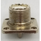 LT34 - Twinpoint Uhf Female 4 Hole Chassis Connector