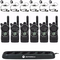 CLS1410KIT - Motorola UHF Radio Kit with 6 Radios, Charging Station, Headsets